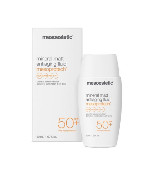 Mesoestetic - mineral matt antiaging fluid